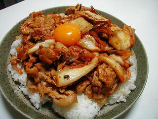 ブタキム丼♪