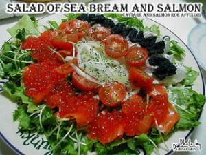 ちょっと豪華なサラダ