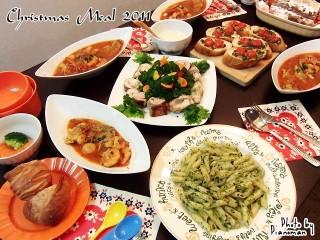 Christmas Meal 2011♪