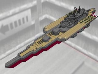 改大和級航空戦艦 甲斐