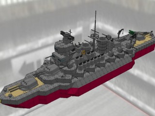 金剛級戦艦 比叡改