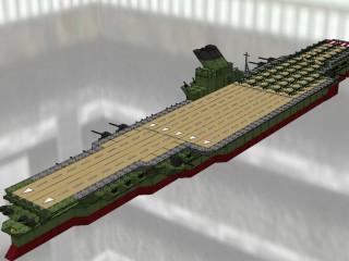 改大和級航空母艦 信濃