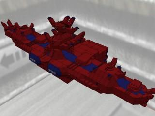 オーラ・バトル・シップ ウィル・ウィプス [Aura Battle Ship WILL-WIPS]