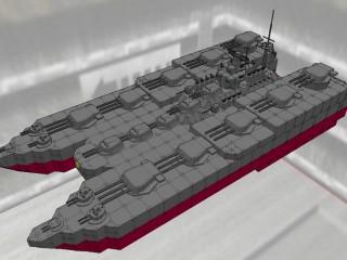 上総級双胴戦艦 上総