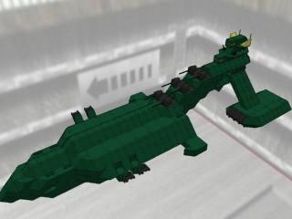 ムサイ級軽巡洋艦 タレイア [MUSAI class light cruiser THALEIA]