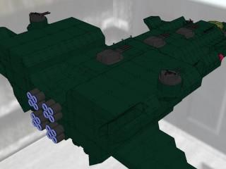 ザンジバル級機動巡洋艦 ラグナレク [ZANZIBAR class mobile cruiser RAGNAROK]