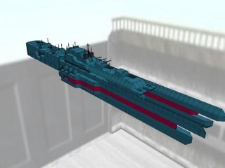 ヒューべりオン級分艦隊旗艦級戦艦 ヒューベリオン [HYPERION]