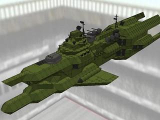 チベ級重巡洋艦 ザイドリッツ [TIBE class heavy crusir SEYDLITZ]