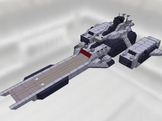 アレキサンドリア級宇宙巡洋艦 アル・ギザ[ALEXANDRIA class heavy space cruiser AL-GIZEH]